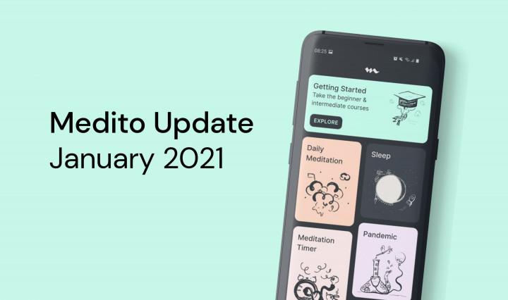 Medito Update - January 2021