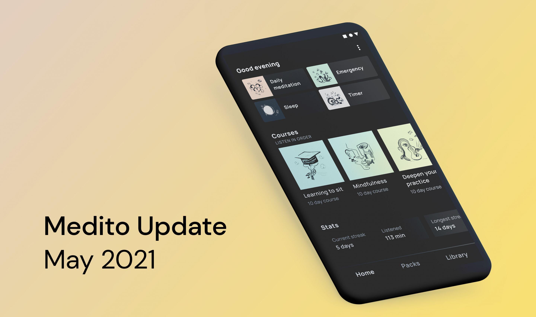 Medito Update - May 2021