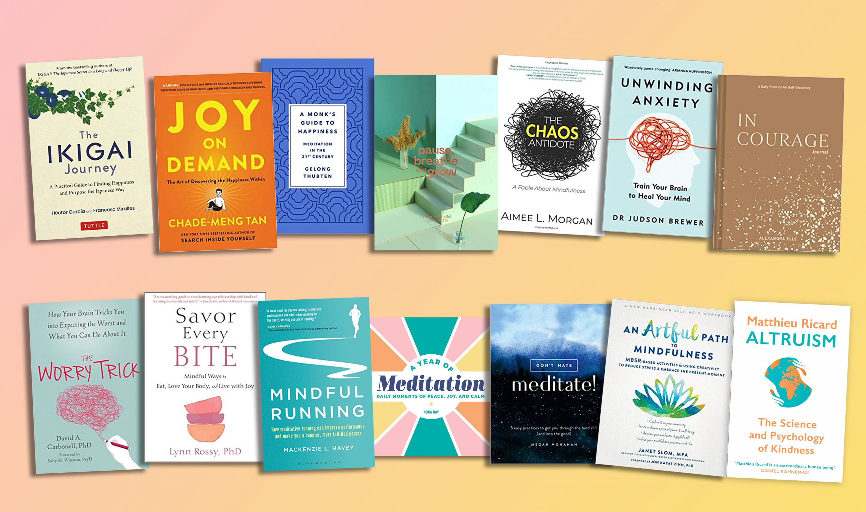 Win a bundle of must-read mindfulness & wellbeing books